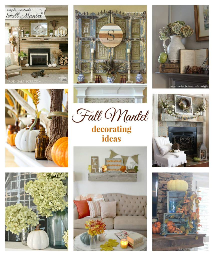 Fall MAntel ideas tour