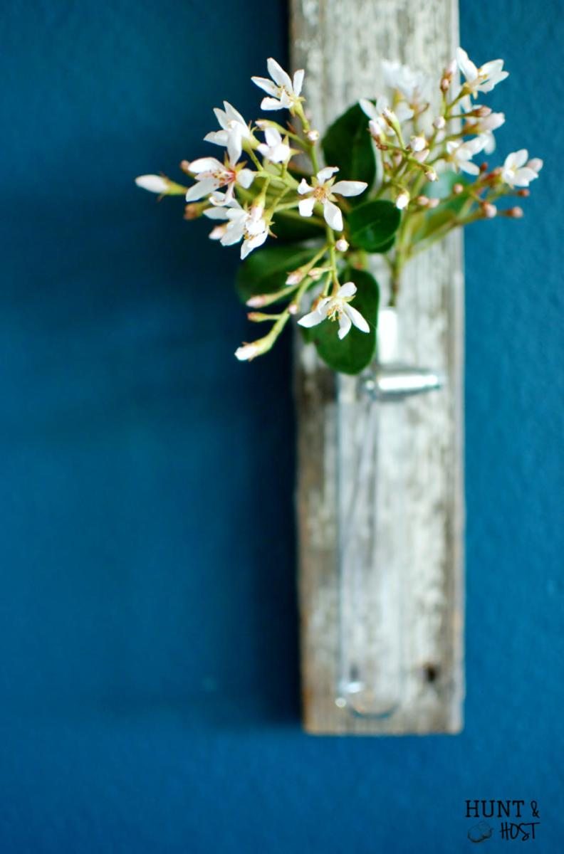 Five Minute Farmhouse Fence Picket Flower Vase