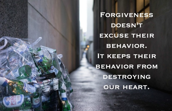 forgiveness frees our heart