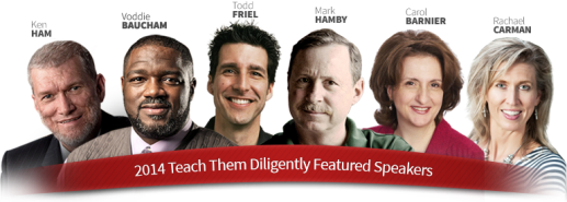 2014 Speakers for the Teach Them Diligently Convention