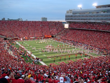 Memorial Stadium during Husker Game