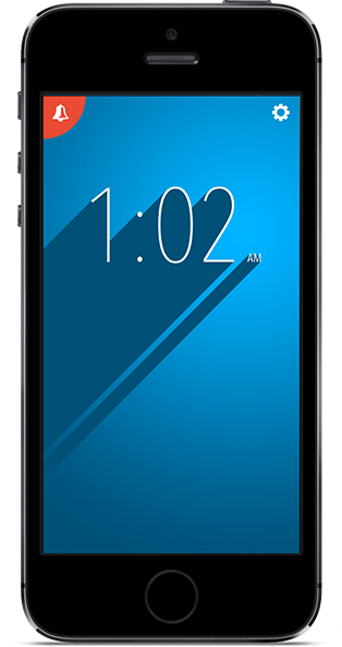 armalarm-screenshot-clock