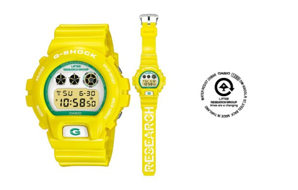 lrg casio gshock dw6900 LRG x CASIO G SHOCK DW 6900 Watch