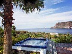mini piscina esterna idromassaggio