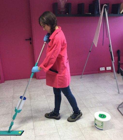 pulizia uffici reggio emilia - pavimenti