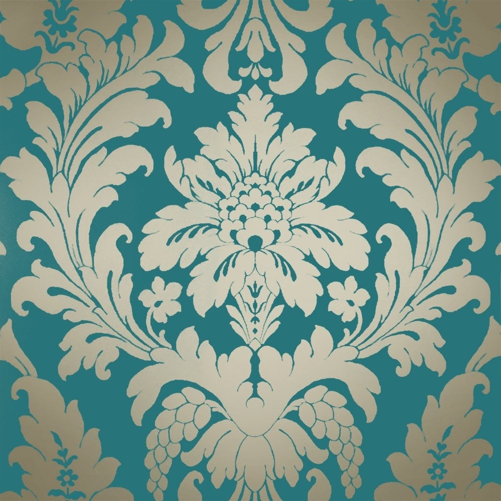 Fullsize Of Teal And Gold