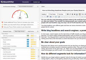 Screenshot InboundWriter – source