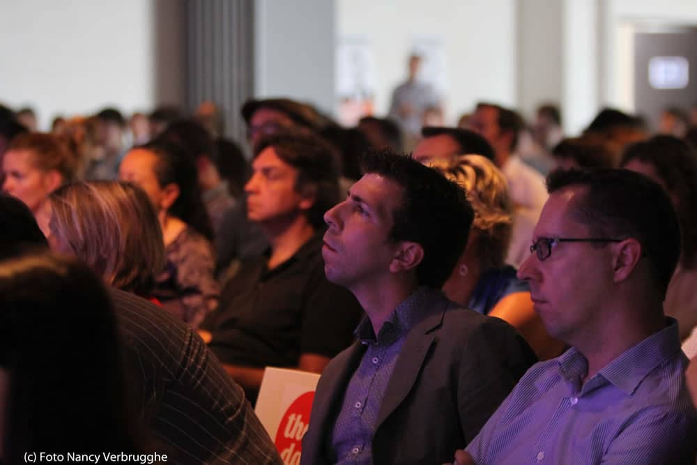 Attentive audience at the Social Business Sessions with Brian Solis by i-SCOOP Fusion Marketing Experience