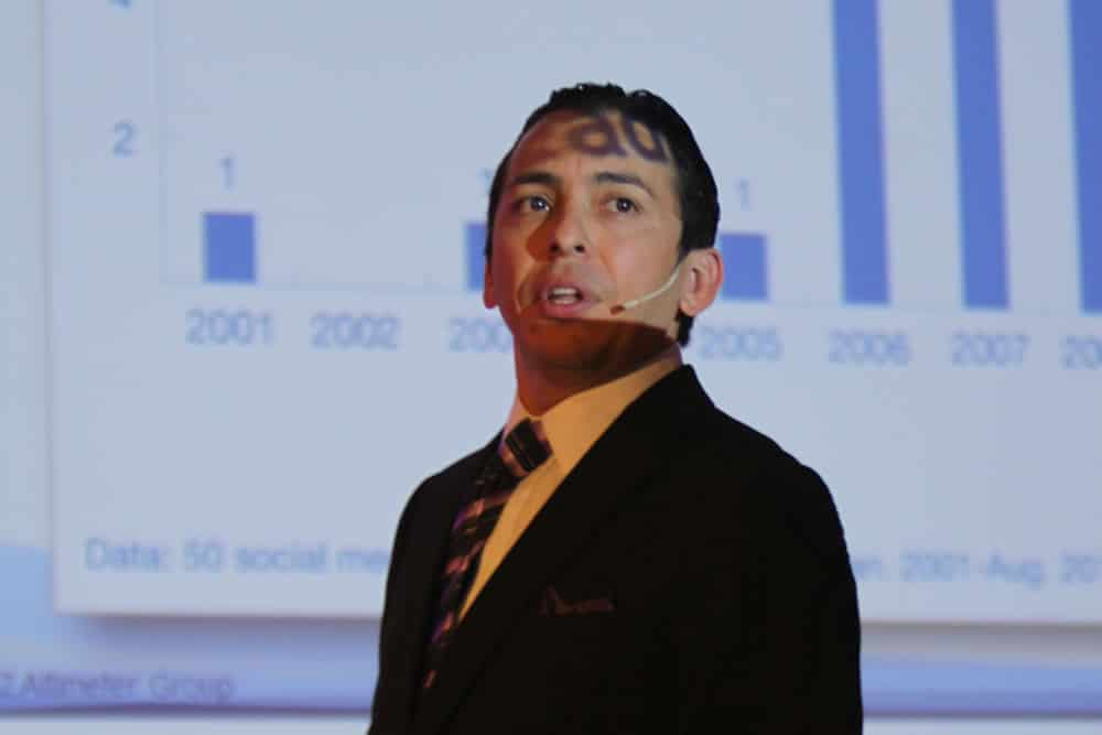 Brian Solis Fusion Marketing Experience social business sessions i-SCOOP – picture nancy Verbrugghe