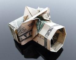 Галерея оригами из долларов (14)