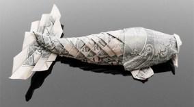 Галерея оригами из долларов (3)