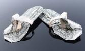 Галерея оригами из долларов (11)