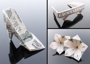 Галерея оригами из долларов (8)