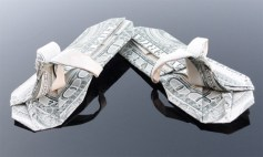 Галерея оригами из долларов (6)