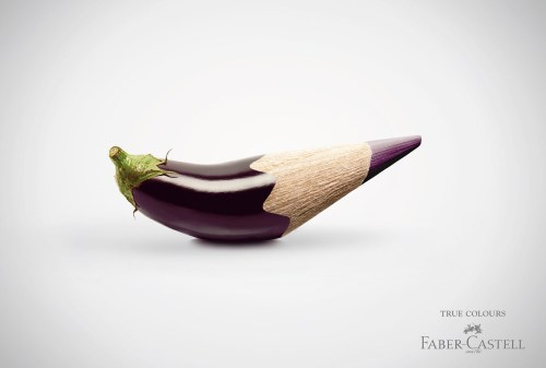 Креативная реклама Faber-Castell: карандаши и пластилин (2)