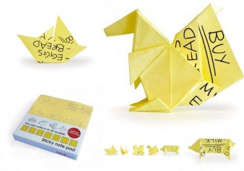 Стикеры с оригами Origami Sticky Note Pads