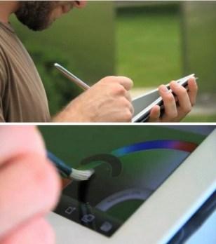 Электронная кисть Sensu Brush для рисования на iPad (3)