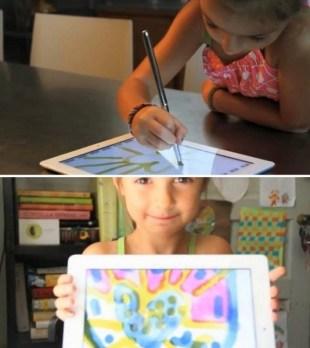 Электронная кисть Sensu Brush для рисования на iPad (2)