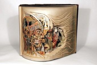Галерея работ по вырезанию из книг Брайана Диттмера (15)