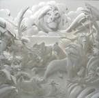 Поделки своими руками из бумаги: скульптуры Джефа Нишинаки (16)
