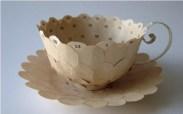 Креативные чашки для кофе из бумаги от Cecilia Levy (6)