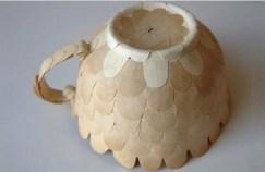 Креативные чашки для кофе из бумаги от Cecilia Levy (5)