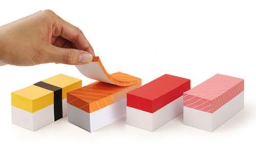 Креативные стикеры Sushi Memo Block (2)