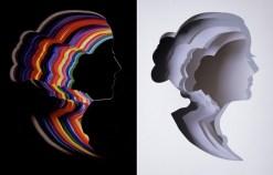 Бумажные силуэты – новое слово в современном искусстве (6)