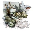 Современное искусство: объемные картины от Грегори Эвклида (2)