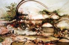 Современное искусство: объемные картины от Грегори Эвклида (6)