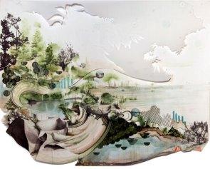Современное искусство: объемные картины от Грегори Эвклида (3)