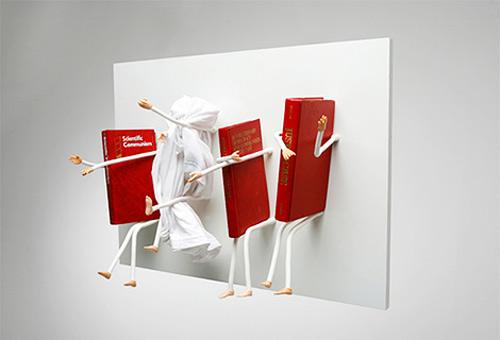 Рейтинг необычных полок для книг (4)