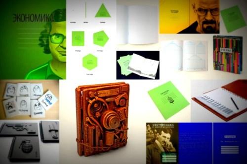 Краткий обзор креативных школьных тетрадей