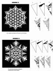Схемы для вырезания новогодних снежинок из бумаги для украшения офиса (8)