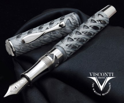 Серия ручек Visconti Skeleton Alutex