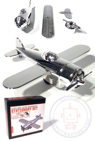 Набор канцелярских принадлежностей Aeroplane Stationery Set