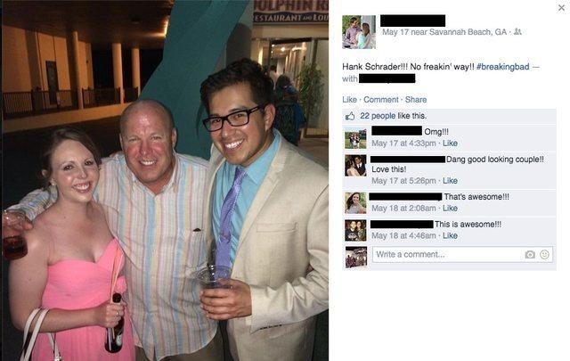 האנשים האלו חשבו שהם פגשו מישהו באמת מפורסם