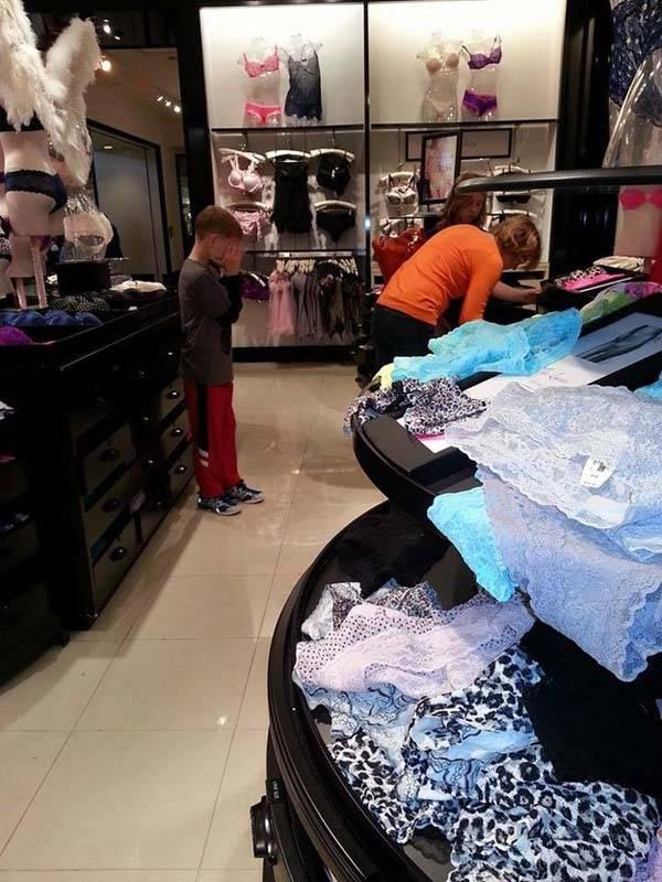 הוכחות מצחיקות מדוע קניות עם ילדים היא משימה קשה ביותר!