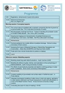 The hydrogeology of peat_Birmingham University_July 2016_Registration_2