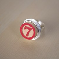 Lucky Number 7 Game Token Ring