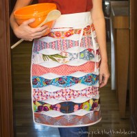 Free Cafe Apron Sewing Pattern