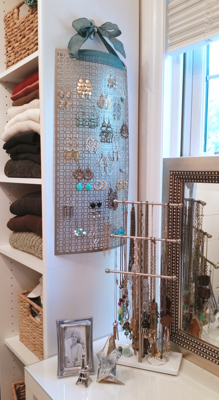 easy earring holder for large earrings