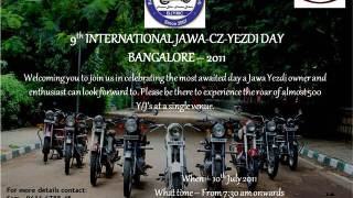 International Jawa Yezdi day Bangalore