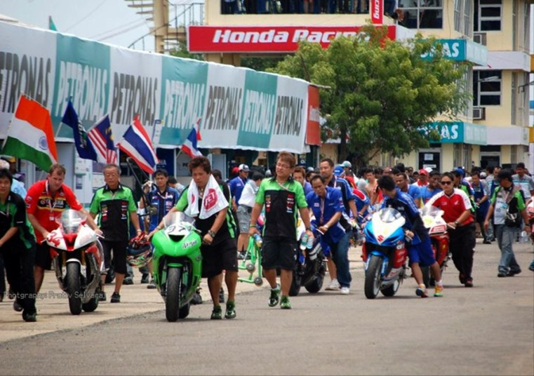 Asia Road racing championship 2011 09
