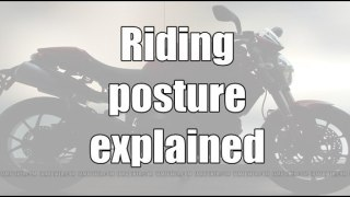 Riding posture explained