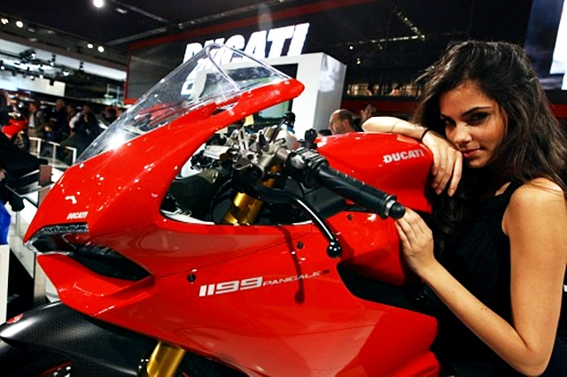 Ducati Panigale 1199 declared most beautiful bike at EICMA 2011