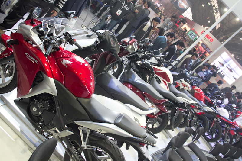 Honda Motorcycles Auto Expo 2012 India -53