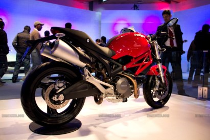 Monster 795 Ducati Auto Expo 2012 India 20