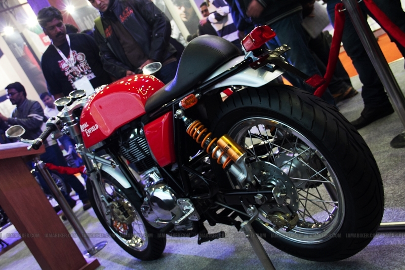 Royal Enfield Cafe Racer Auto Expo 201201