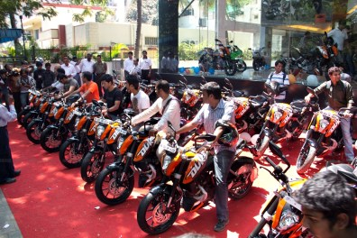 KTM Duke 200 Bangalore launch 24
